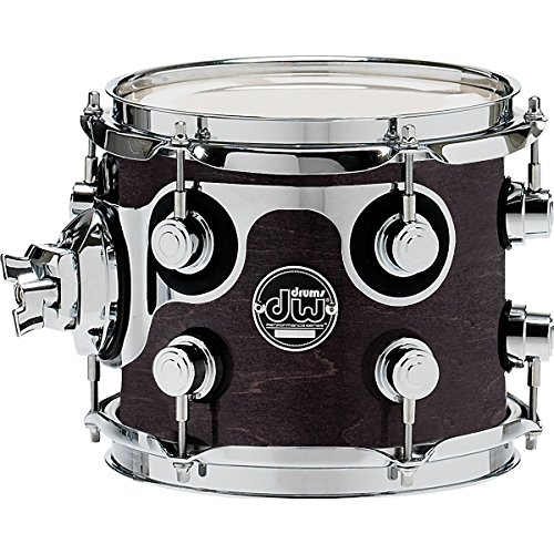 DW Performance Series Tom 7×8 Ebony Stain Lacquer