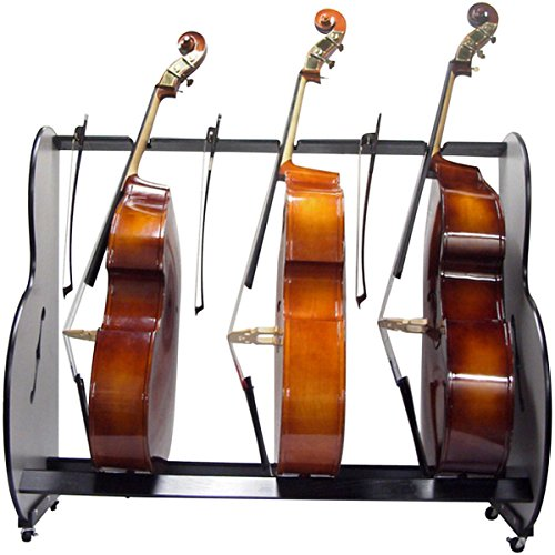 A&S Crafted Products Double-Bass Rack 66.5 x 53 x 27 in.