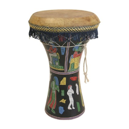 Mid-East Large Pretuned Pharaonic Wooden Doumbek 12″x17″
