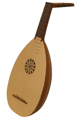 Roosebeck 7-Course Lute, Rosewood, Taylor (Package Of 3)