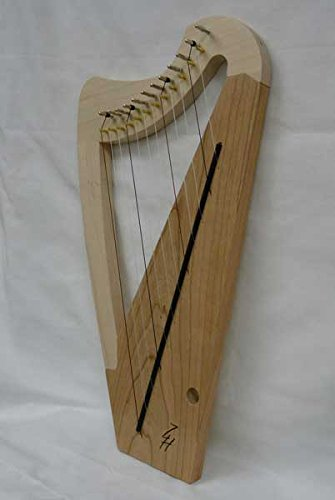 Zither Heaven 12-String Maple – Cherry Lap Harp