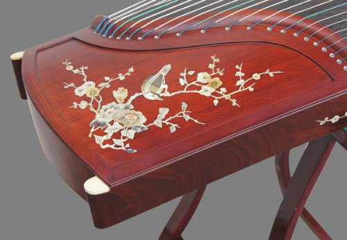Professional Performing Carved Rosewood Guzheng Instrument Chinese Zither Koto