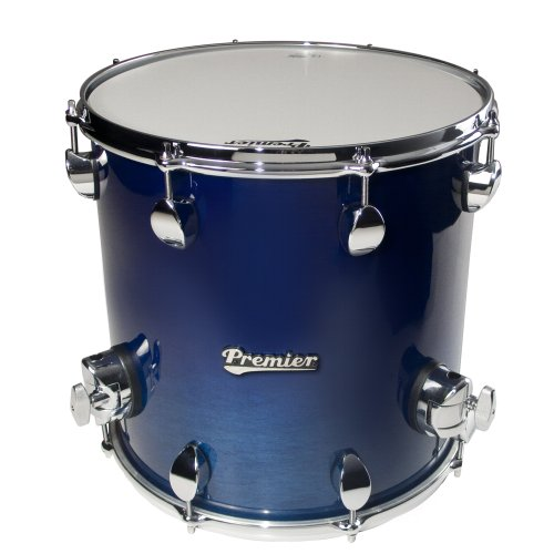 Premier Drums Series Elite 2854SPLRHL 1-Piece Maple 14×14 Inches Floor Tom, Drum Set (Renee Blue)