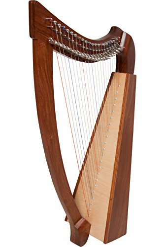Heather Harp (NATURAL) w/ FREE Learn to Play Book