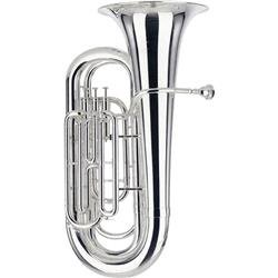 Besson BE1087 Series 3-Valve BBb Tuba (Silver)
