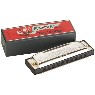Hohner Old Standby Harmonica in Chrome – Key of G