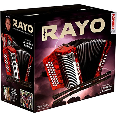 Hohner Rayo GCF Accordion Button Style