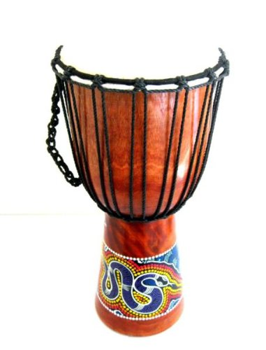 Djembe Drum Bongo Hand Drum, African Drum – Percussion – X- LARGE, 20″ Professional Sound, JIVE® BRAND