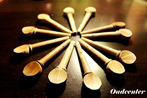 (Ship from USA) 12 Oud Lute Ud Pegs for Arabic Syrian Oriental fretless Guitar Oud Saz Violin .PACKNO-GJOWH712BF6101