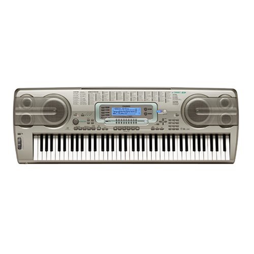 Casio WK3300AD 76 Key Electronic Keyboard with Power Supply