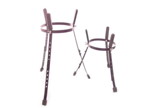 Conga STAND PAIR -10″ + 11″ TWO DRUM STANDS drums NEW!