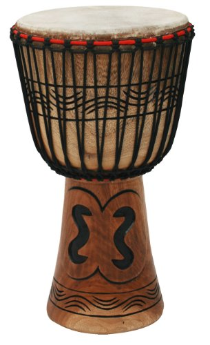 Tycoon Percussion Traditional Series 13 Inch African Djembe