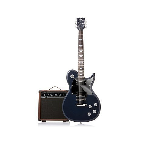 """Keith Urban Limited Edition """"Night Star"""" Solid Body Electric 50-piece Guitar Package – Midnight Blue"""