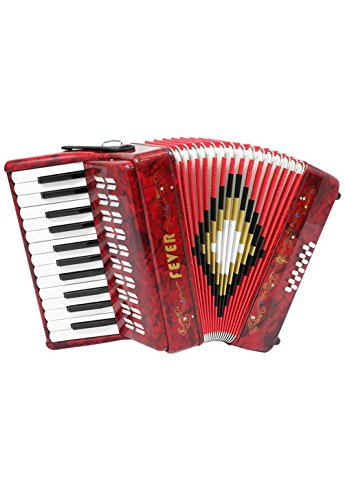Fever F2512-RD Piano Key Accordion