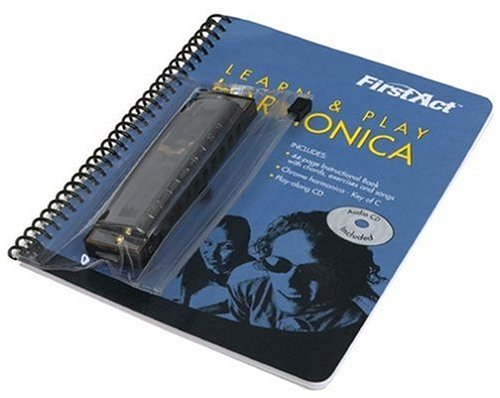 First Act M2LPH1 Learn & Play Harmonica