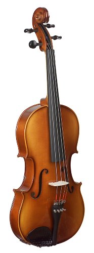 Knilling Bucharest Viola Outfit (14-Inch, Thermoplastic Case, Wood Bow)
