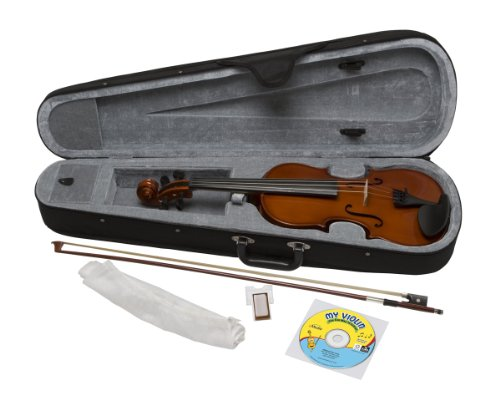eMedia My Violin Starter Pack, 1/2 size (5 sizes available)