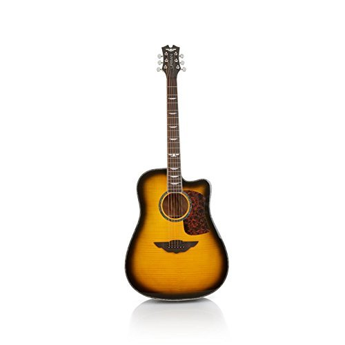 """Keith Urban 50-piece """"PLAYER"""" Acoustic Guitar and 30-Lesson Package – Brazilian Burst"""