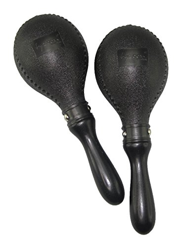 Tycoon Percussion TMP-DB Double Black Plastic Maracas