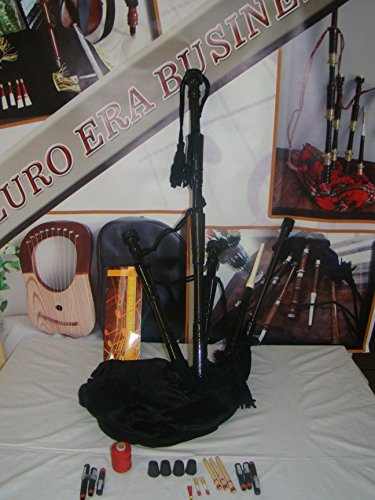 Scottish Rosewood bagpipe Full Size With Practice Chanter ( Starter Package )