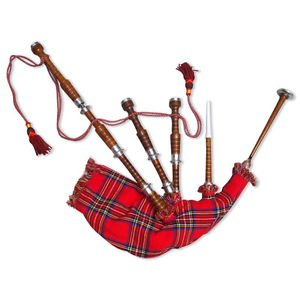 Bagpipes sale Scottish bagpipe with Practice Chanter by Musicalitem