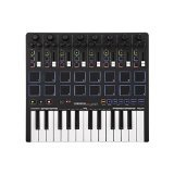 Reloop Keypad Compact USB MIDI Keyboard with DAW Control and Drum Pads