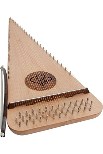 Roosebeck Baritone Rounded Psaltery – Right Hand