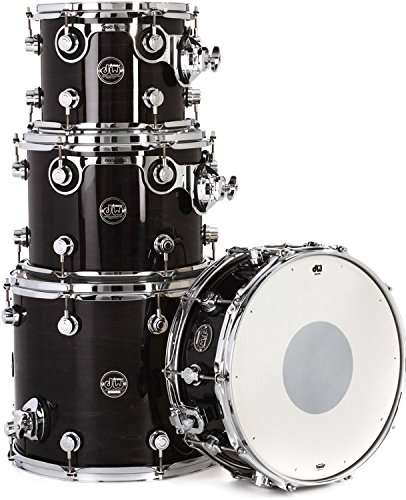 DW Performance Series 4-piece Tom/Snare Pack – Ebony Stain Lacquer