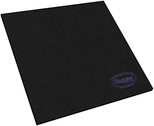 Auralex Acoustics HoverDeck v2 Drum Isolation Riser Platforms, 1″ x  23.75″ x 23.75″, 1 Set