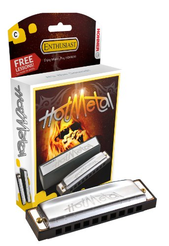 Hohner 572BX-C Hot Metal Standard Line Diatonic Harmonica, Key of C