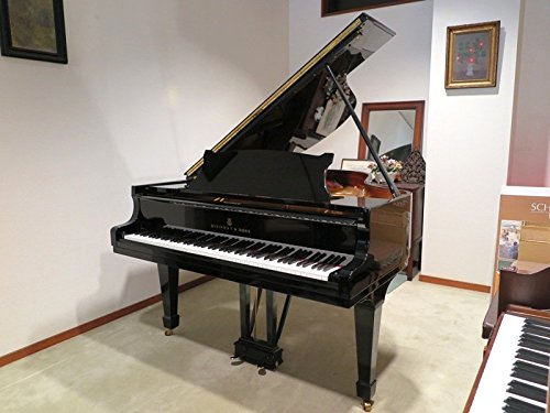 "Rare 1985 Hamburg Steinway model ""O"" Grand Piano / watch video (black)"