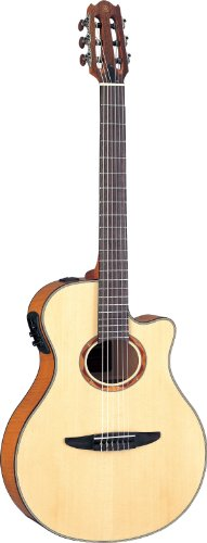 Yamaha NTX900FM Acoustic Electric Classical Guitar, Flamed Maple Top