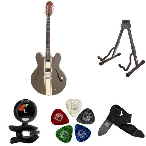 "Epiphone ""Tom Delonge"" Signature ES-333 Semi-Hollowbody Electric Guitar Accessory Bundle"