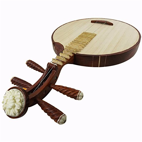 Talljo® Professional Copper Yueqin Chinese Moon Lute Guitar Banjo Musical Instrument
