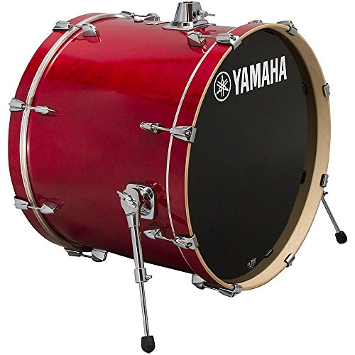 Yamaha Stage Custom Birch 18×15 Bass Drum, Cranberry Red