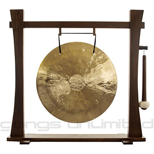 20″ Wind Gong on Spirit Guide Gong Stand