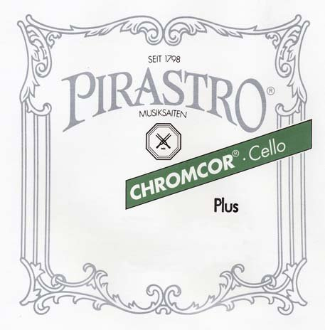 Pirastro Chromcor Plus 4/4 Cello String Set – Medium Gauge
