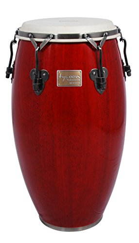 Tycoon Percussion 11 3/4 Inch Signature Classic Series Red Conga With Single Stand