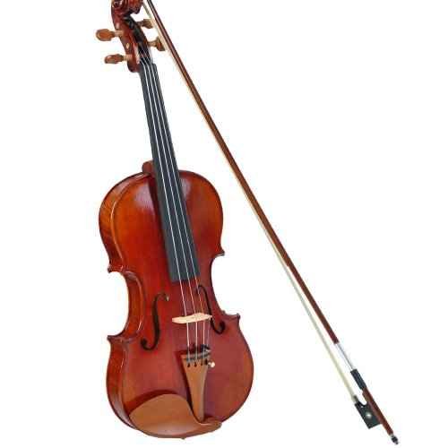 4/4 Full Size Maple Wood Violin with Bow Case – Advanced