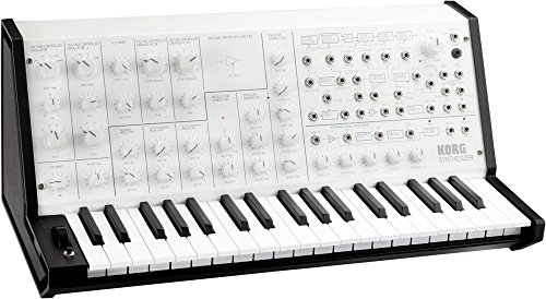 MS-20 Mini Synthesizer in Limited Edition White