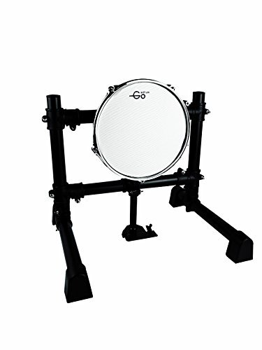 Goedrum 10 inch Electronic Bass Pad with Stand / 10″ Mesh Head Kick Drum Pad