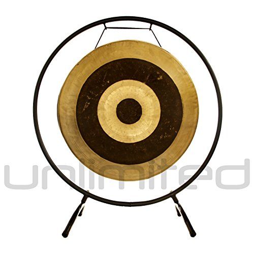 22″ Subatomic Gong on the Holding Space Gong Stand