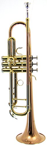 Barrington BR TR210L Bb Standard Lacquer Trumpet with Rose Brass Bell & Leadpipe