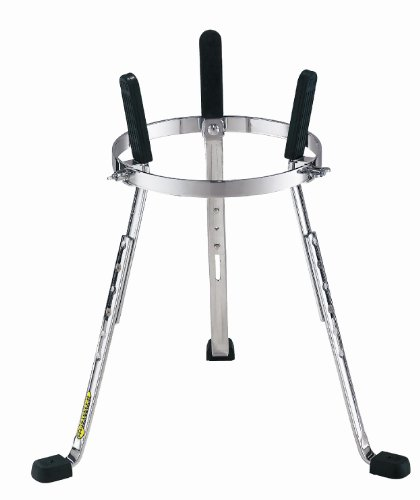 Meinl Percussion ST-DJEMBE Steely II Chrome Plated Height Adjustable Djembe Stand
