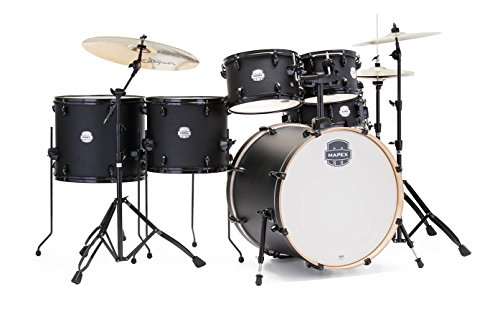 Mapex ST6285FC-IK Storm Series 6PC Drum Set with Hardware and Zildjian Cymbals