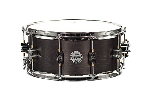 PDP By DW Black Wax Maple Snare Drum 6.5×14