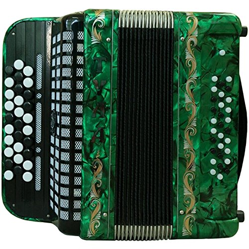 Brand NEW Russian Chromatic Button Accordion, Bayan, for Children or Beginner, Tula Bn 56, 3 Rows, 30 Bass, Light Weight, Free Bass