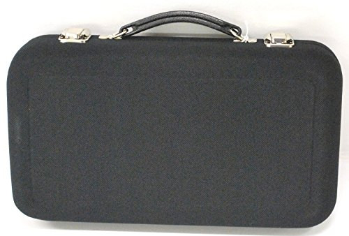 Wingsmarketshop Black Leather Universal Oboe Case Reed Holder Case 3 x 8 x 14 in Made in the USA & Work Test NEW!
