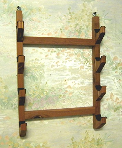 Native American Flute – Wall Rack – holds 4 flutes – handmade from aromatic cedar made in USA