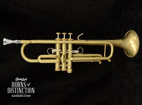 Stomvi Artist-Played Jim Manley S3 Bb Custom Brushed Lacquer Bb Trumpet (SN. 35619)